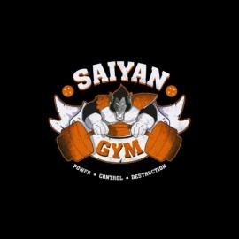 tee shirt sayan gym dragon ball