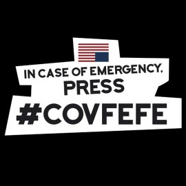 Tee Shirt Trump Emergency Covfefe
