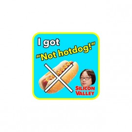 tee shirt jin yang silicon valley hotdog