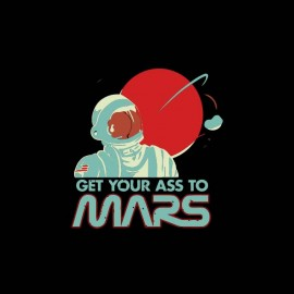 tee shirt voyage sur mars humour