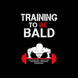 tee shirt training to be bald krilin dragon ball