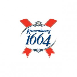tee shirt biere 1664 kronembourg