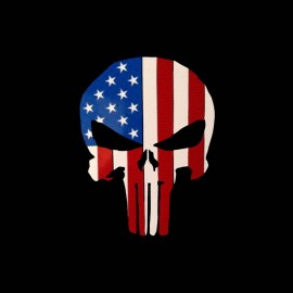 tee shirt the punisher american vintage