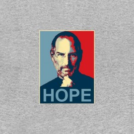 tee shirt steve job hope