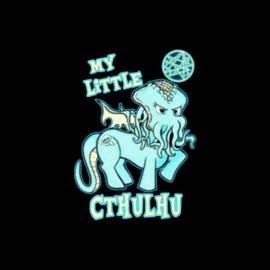 tee shirt mon petit poney version cthulhu