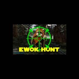 tee shirt chasse a l ewok star wars