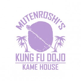 tee shirt mutenroshi kung fu dojo dragon ball