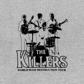 e7025ce63acf ... tee shirt the killers destructeurs en masse