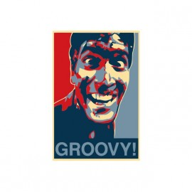 tee shirt evil dead groovy bruce campbel