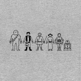 tee shirt star wars pictogramme