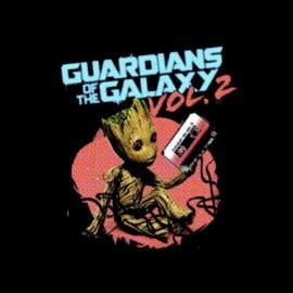 tee shirt gardians galaxy volume 2 groots