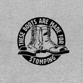 tee shirt stomping boots punk