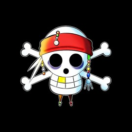 tee shirt one piece parodie pirate
