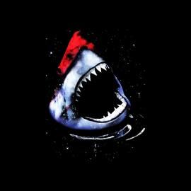 tee shirt le requin de l espace