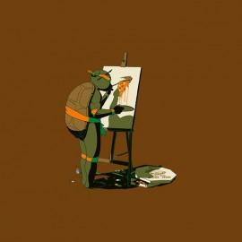 tee shirt tortue ninja artiste