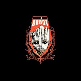 tee shirt i am groot gardiens de la galaxie