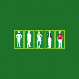 tee shirt big bang theory silhouettes