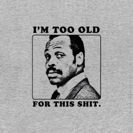 tee shirt Roger Murtaugh Lethal Weapon