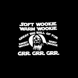 tee shirt wookie grr contest star wars