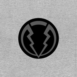tee shirt Marvel Inhumans Black Bolt Symbole