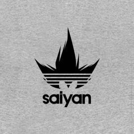 tee shirt sayan parodie adidas