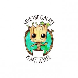 tee shirt groot guardiens de la galaxie sauver un arbre