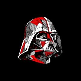 tee shirt dark vador vector star wars