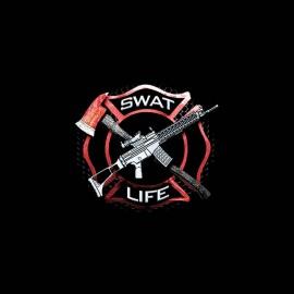 tee shirt swat life police team