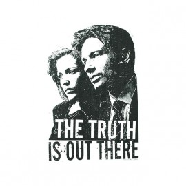 tee shirt x-files the truth is out there