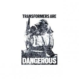 tee shirt transformers dangereux