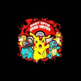 tee shirt pokemon et walking dead