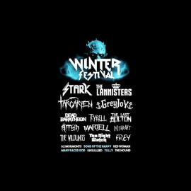 tee shirt game of thrones winter festival