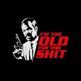 tee shirt Roger Murtaugh arme fatale