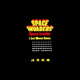 tee shirt space invaders vintage