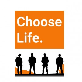 tee shirt choose life transpotting original