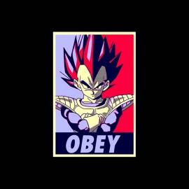 tee shirt obey vegeta
