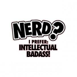 tee shirt nerd badass