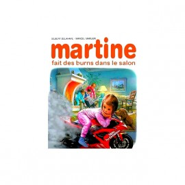 tee shirt martine moto dans le salon