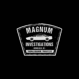 tee shirt thomas magnum investigation
