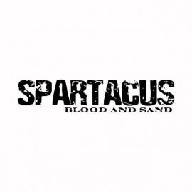 Tee shirt Spartacus black / white