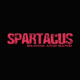 Tee shirt Spartacus rouge/noir