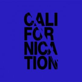 Tee shirt Californication black / royal