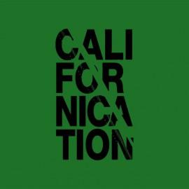 Camiseta Californication negro / verde botella