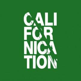 Tee shirt Californication white / green bottle