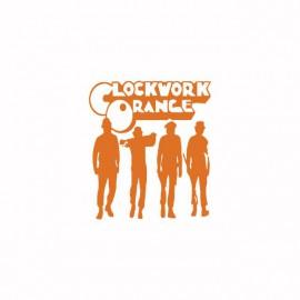 Tee shirt Clockwork Orange Mecanique orange/blanc
