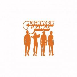 Tee shirt Clockwork Orange Mecanique orange / white