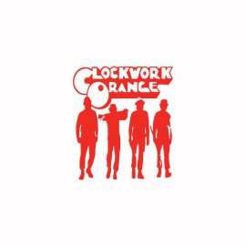 Tee shirt Clockwork Orange Mecanique red / white