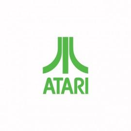 Camisa Atari verde / blanco