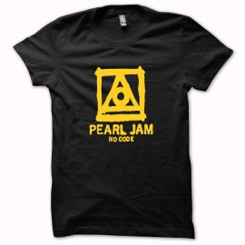 T-shirt Pearl Jam no code yellow/black