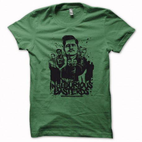 Tee shirt Inglourious Basterds noir/vert bouteille
